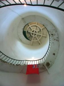 inside happisburgh lighthouse